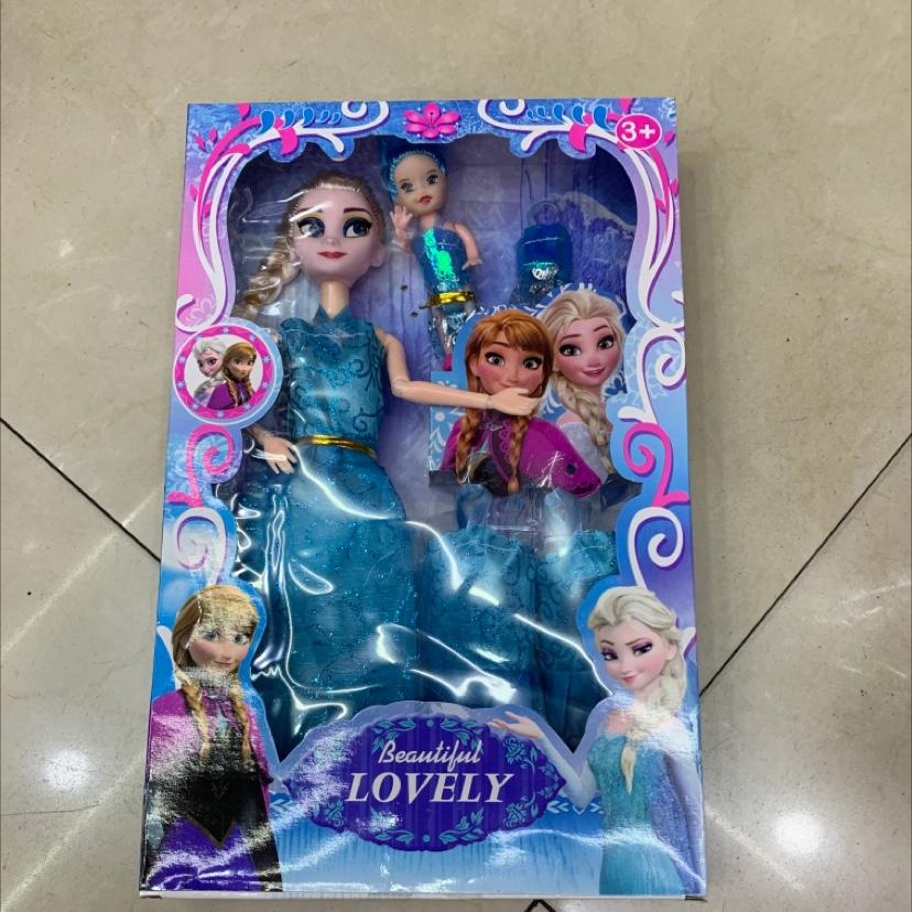 厂家销售简动文创冰雪奇缘惊喜百宝箱城堡公主女孩饰品盲盒玩具