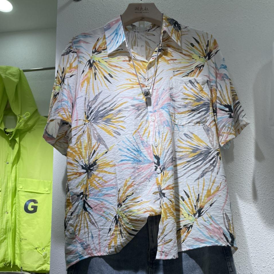 男士沙滩衬衫