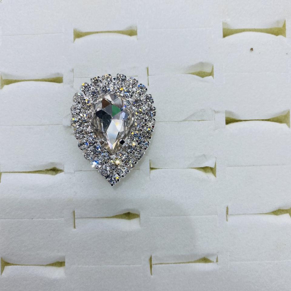 2021小众设计师原创设计师网红chic爪链戒指满钻轻奢甜美重工戒指女626