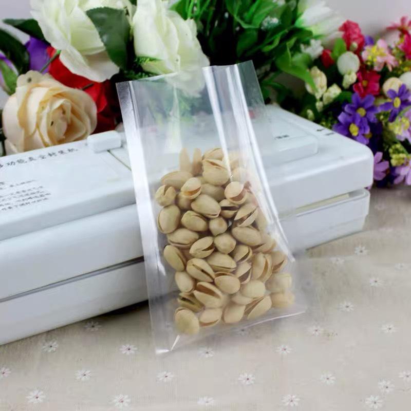 透明真空三边封袋加厚塑料食品包装袋干果茶叶密封袋封口袋批发