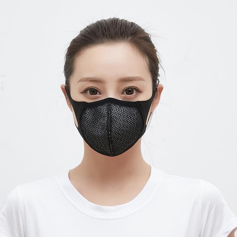 立体防晒防尘运动跑步骑行防紫外线日本网红明星口罩男女潮款可洗