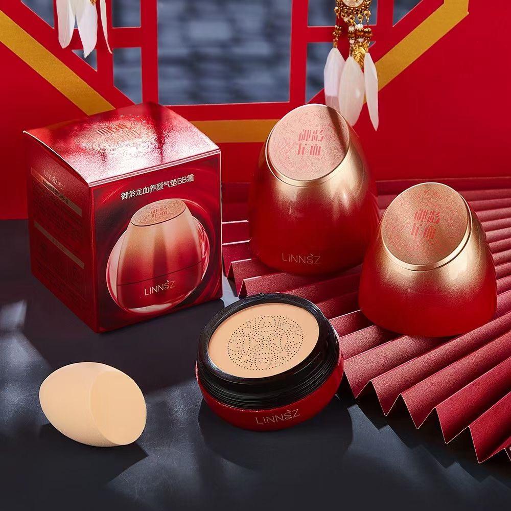 新品上市✨✨✨ 品 牌:琳妆 名 称:琳妆御龄龙血养颜BB霜 型 号:9201 规 格:件/144盒 功 效:🌟质地细腻