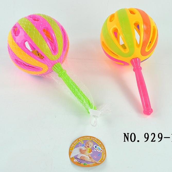 婴儿玩具0-1岁宝宝益智早教儿童抓握可咬牙胶3-6月幼儿安抚手摇铃014