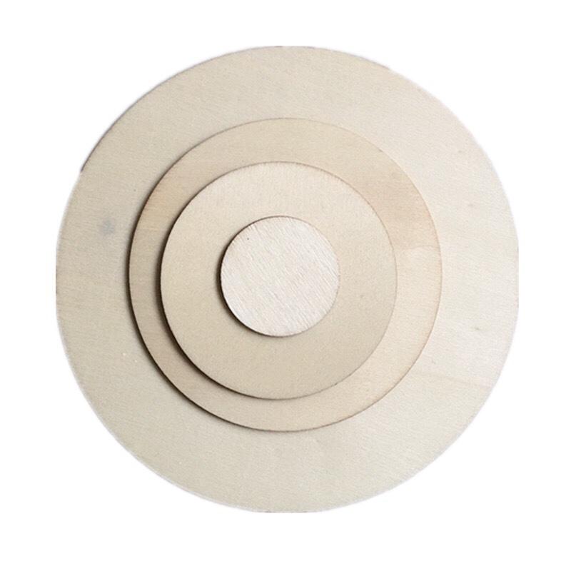 圆木片DIY手工材料手绘木片画原木装饰木板圆形模型材料摄影道具批发零售出口
