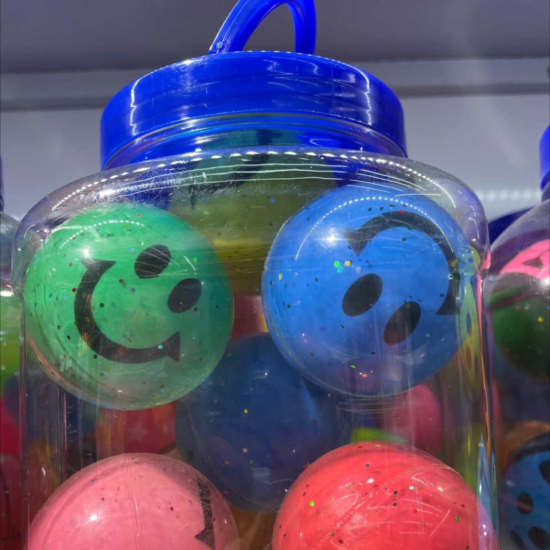 新款立体笑脸球