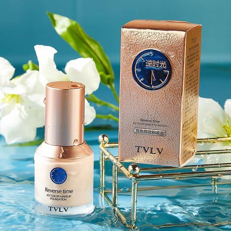 新品上市🔥🔥🔥 TVLV9501逆时光悦色持妆粉底液  件/96盒 🌟奢养底妆,超强持妆,24h不掉线,轻薄服帖,无暇奶