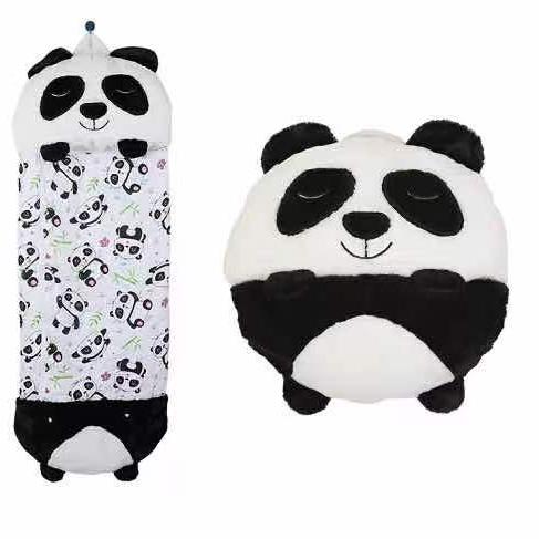 新款Happy Nappers跨境亚马逊睡袋儿童款 卡通毛绒抱枕可变儿童睡袋6