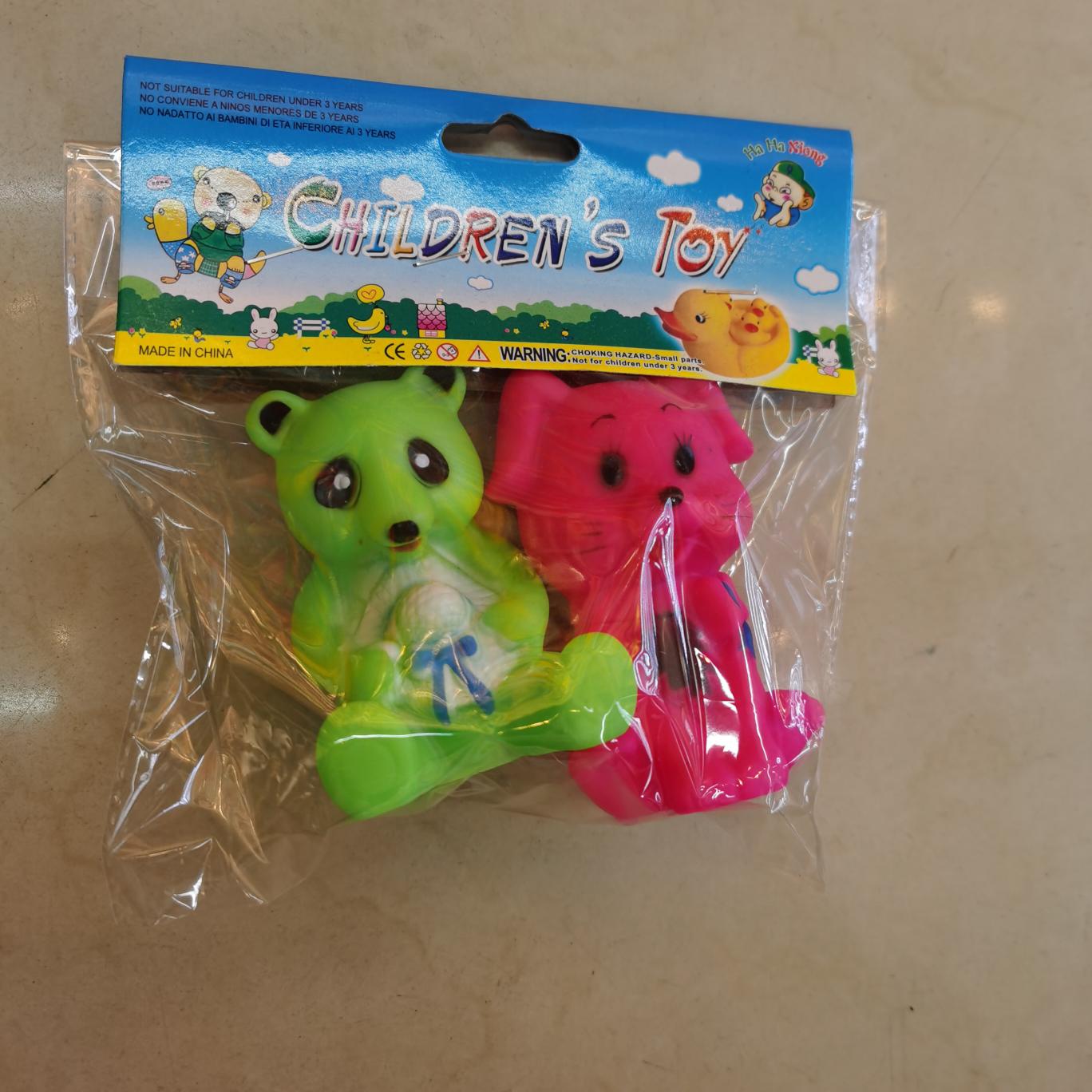 搪胶玩具捏捏叫厂家批发洗澡玩具