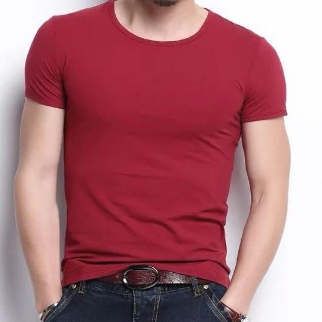 男士纯色短袖5