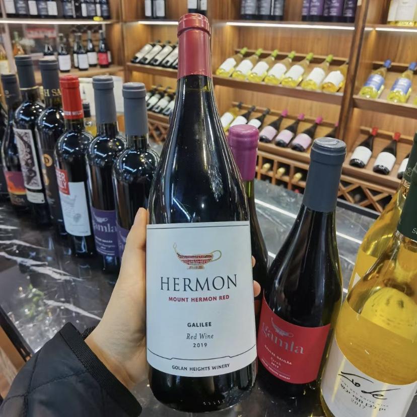 以色列蒙特海蒙干红葡萄酒2019