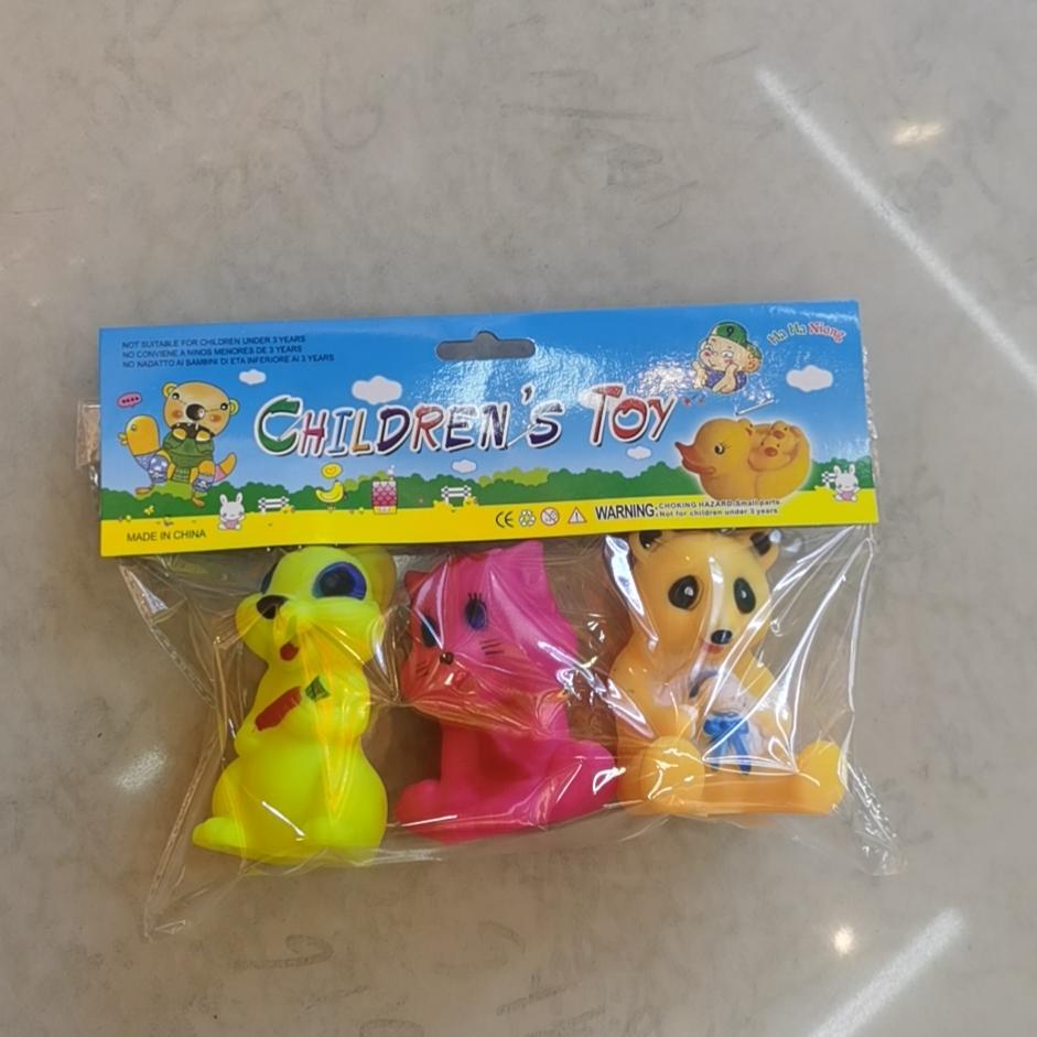 洗澡玩具熊厂家批发捏捏叫玩具