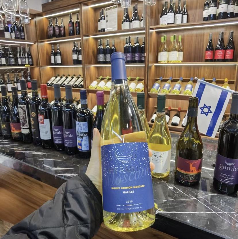 以色列蒙特海蒙摩斯卡托白葡萄酒2019