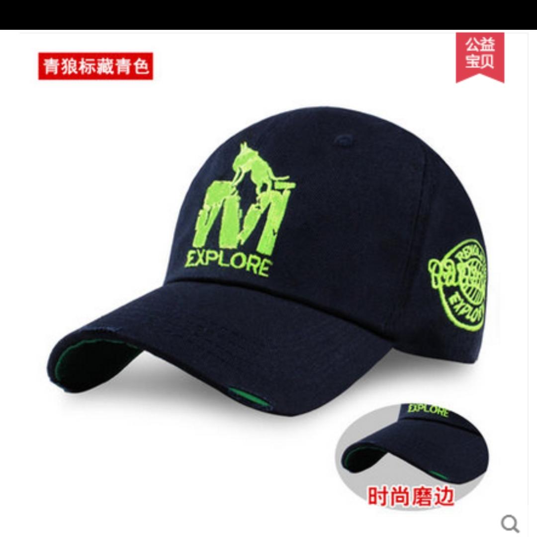 帽子男女夏季鸭舌帽棒球帽遮阳ins潮流薄款潮牌大头围圆脸MM必备鸭舌帽