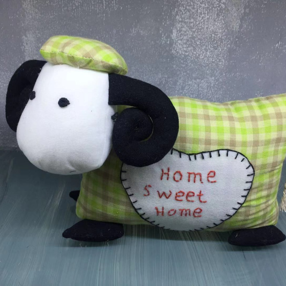 奶牛系列门挡摆件家居客厅卧室书房创意道具用品