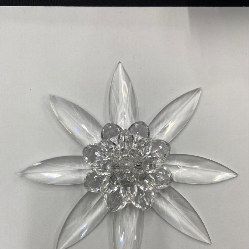 仿水晶花,婚庆装饰挂件