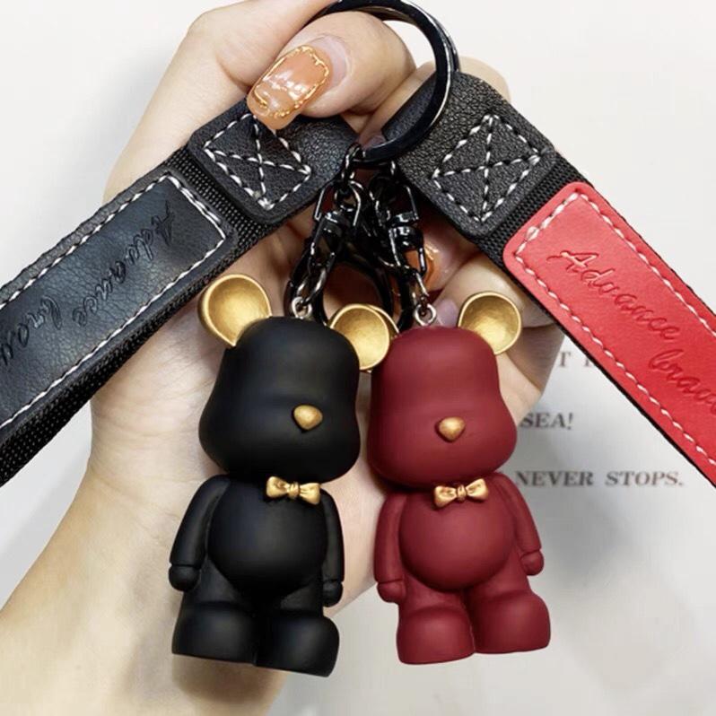 汽车钥匙扣女可爱卡通韩国网红女士挂饰ins高档情侣男女包挂件