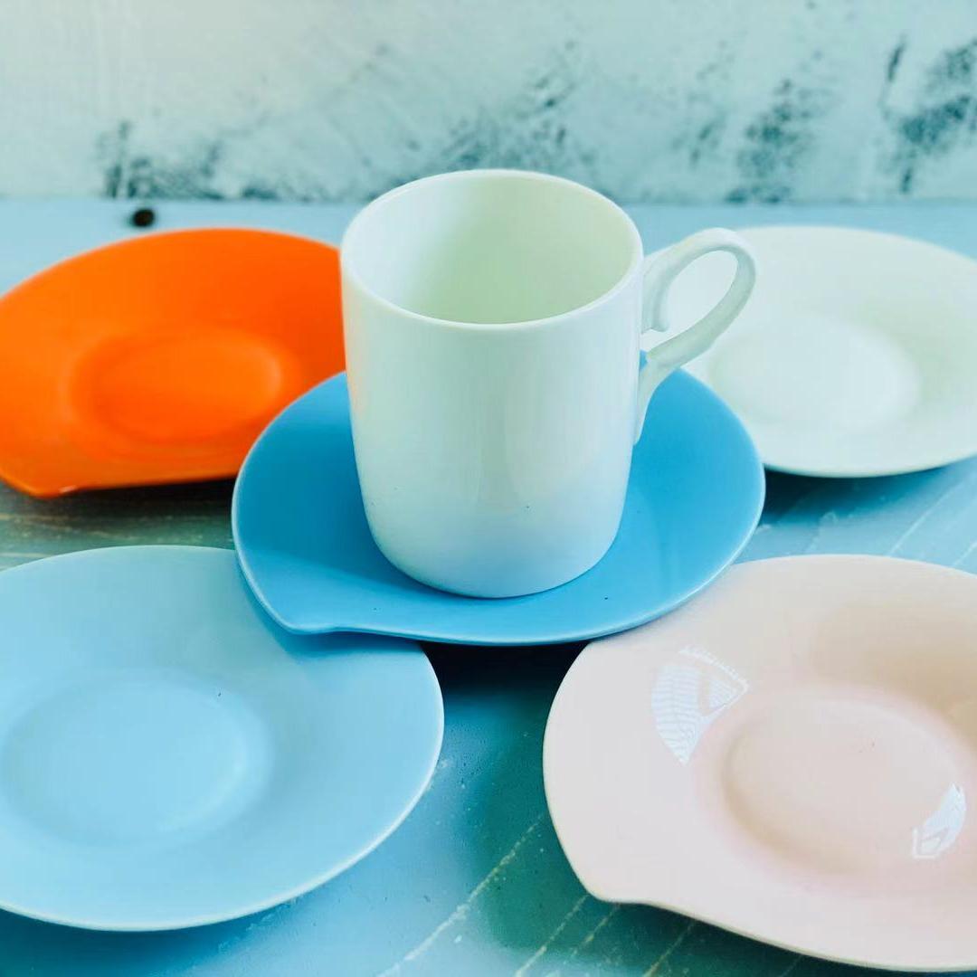 HDBBEJENEN585868陶瓷咖啡杯蝶