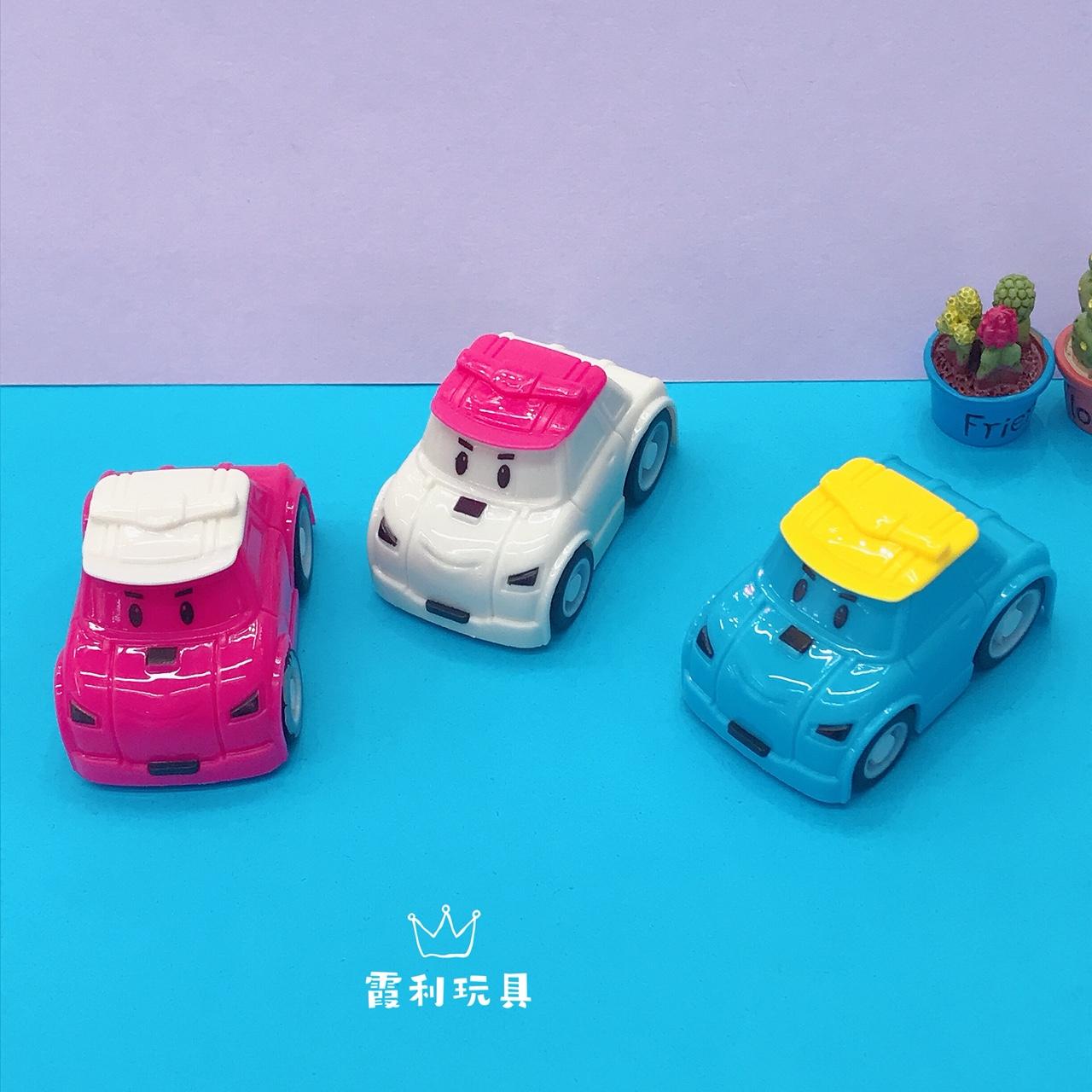 帽子卡通回力车 儿童塑料玩具 赠品 扭蛋