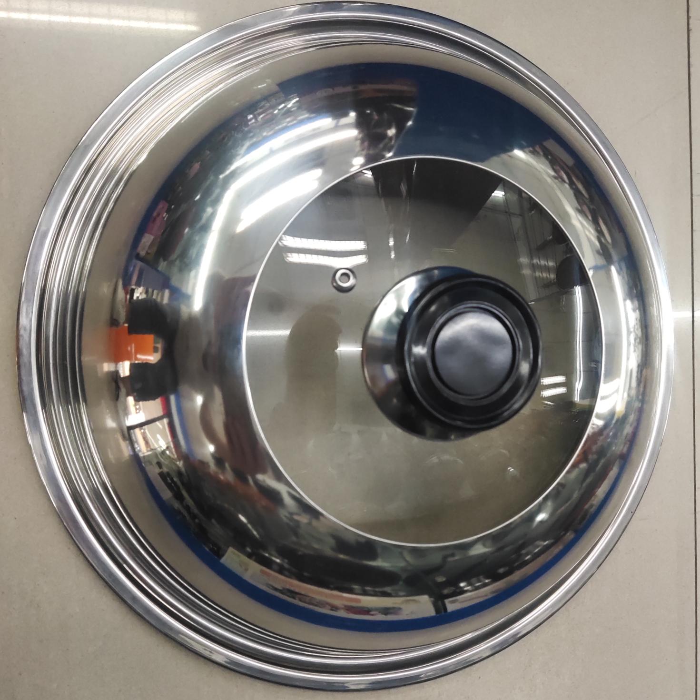 SRACOOK36cm不锈钢盖,炒锅,煎锅,汤锅通用不锈钢盖28cm~36cm