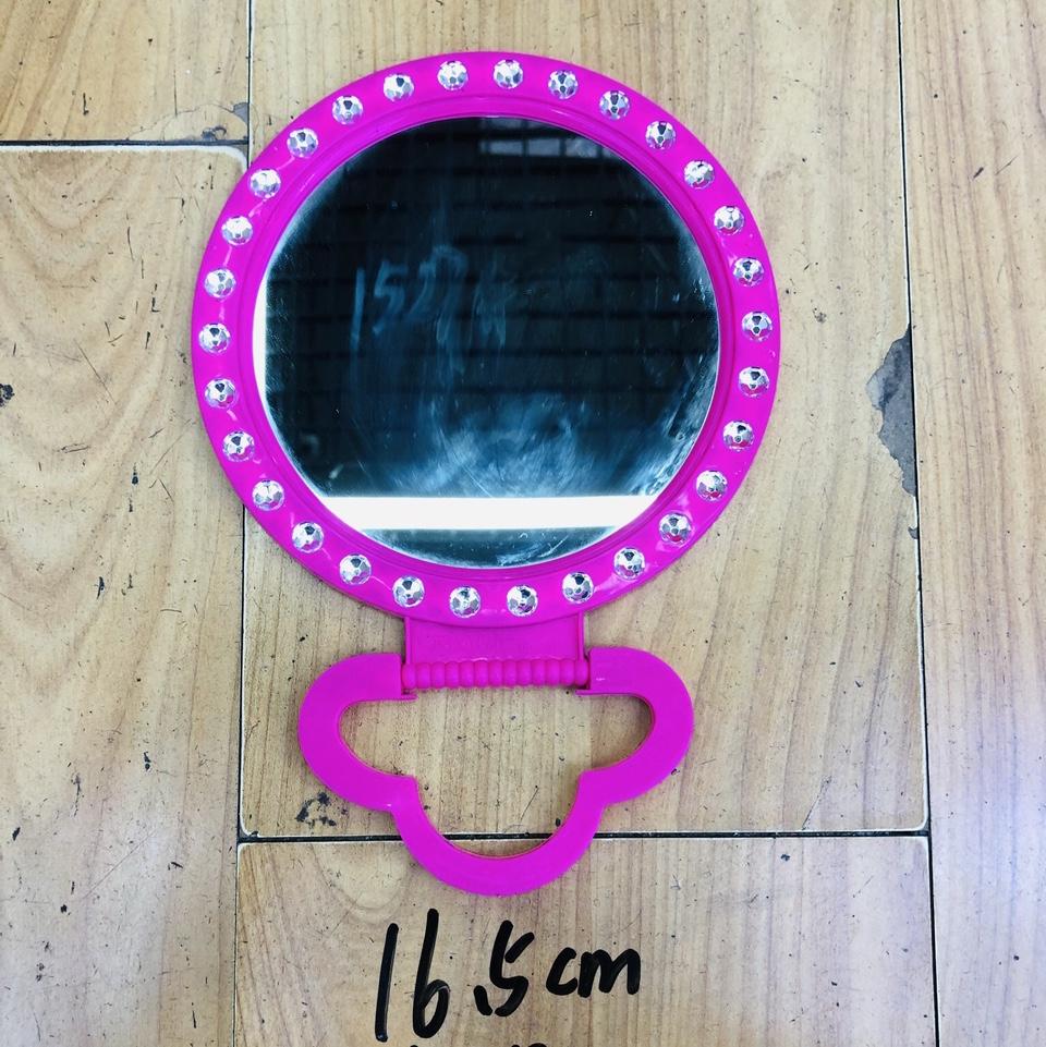 紫色塑料镶钻镜