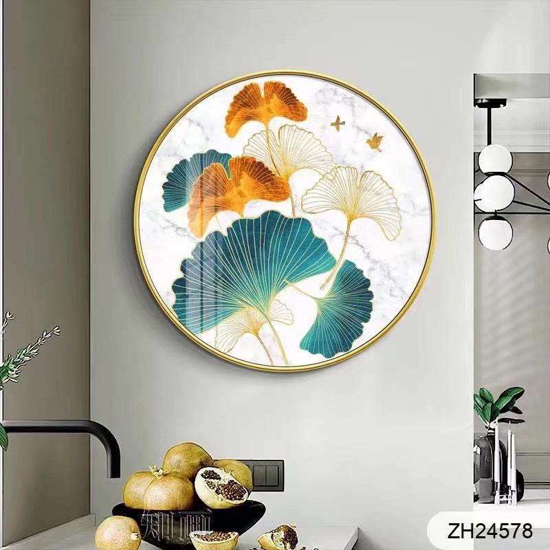 铝合金晶瓷圆形挂画
