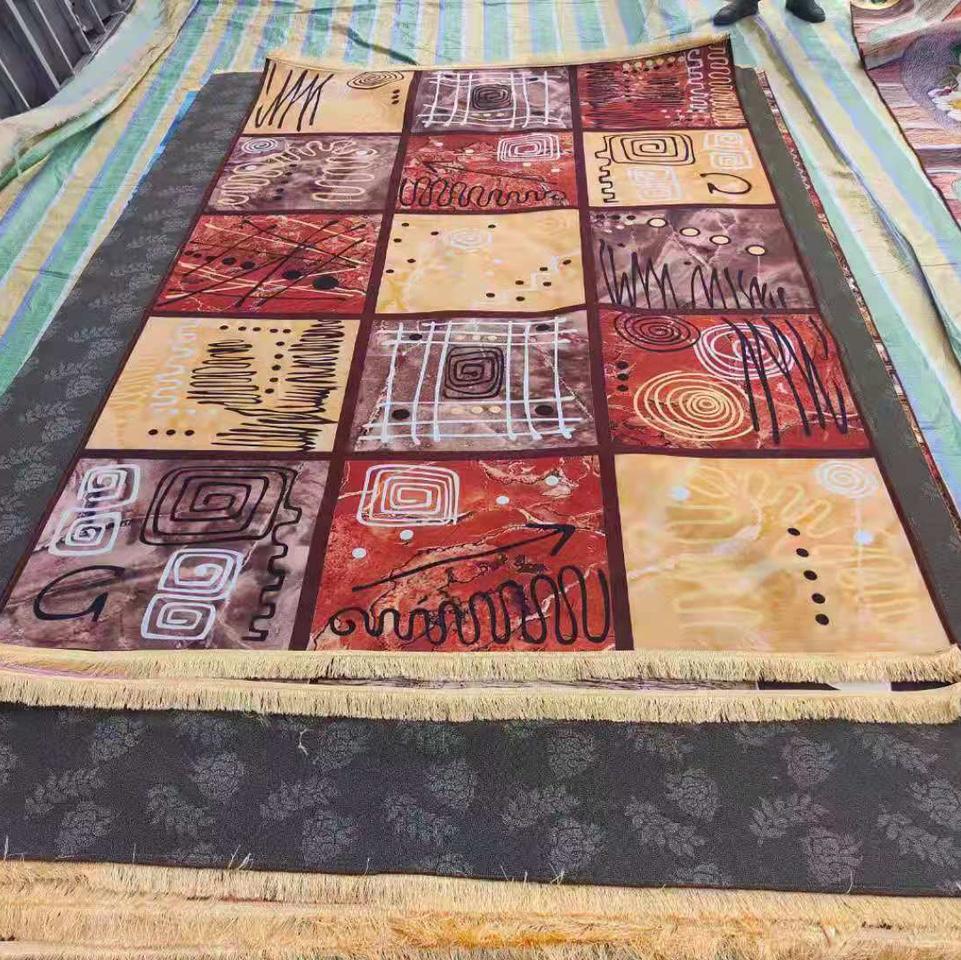 图案地垫地毯