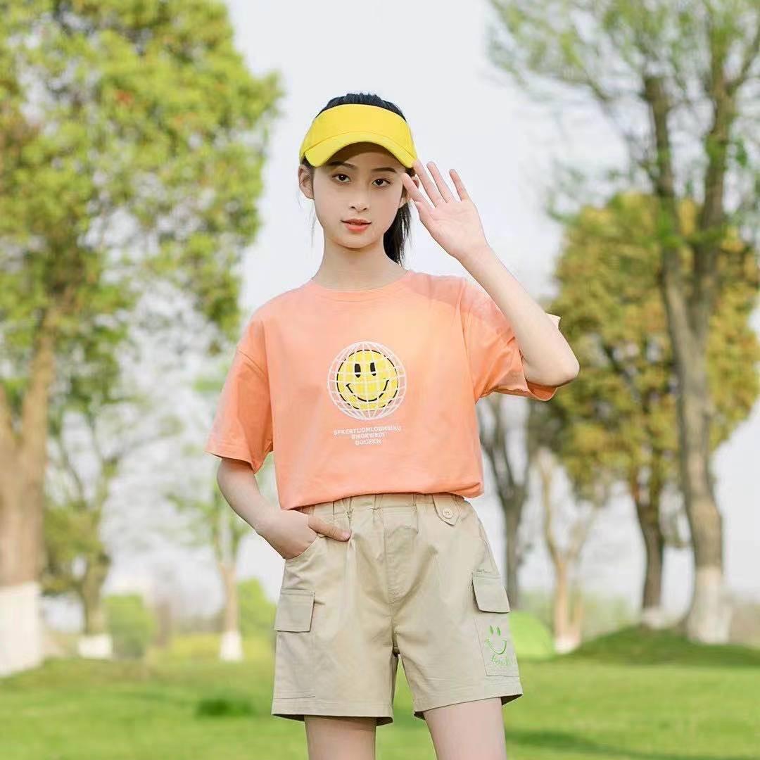 T恤女童夏天款洋气夏装