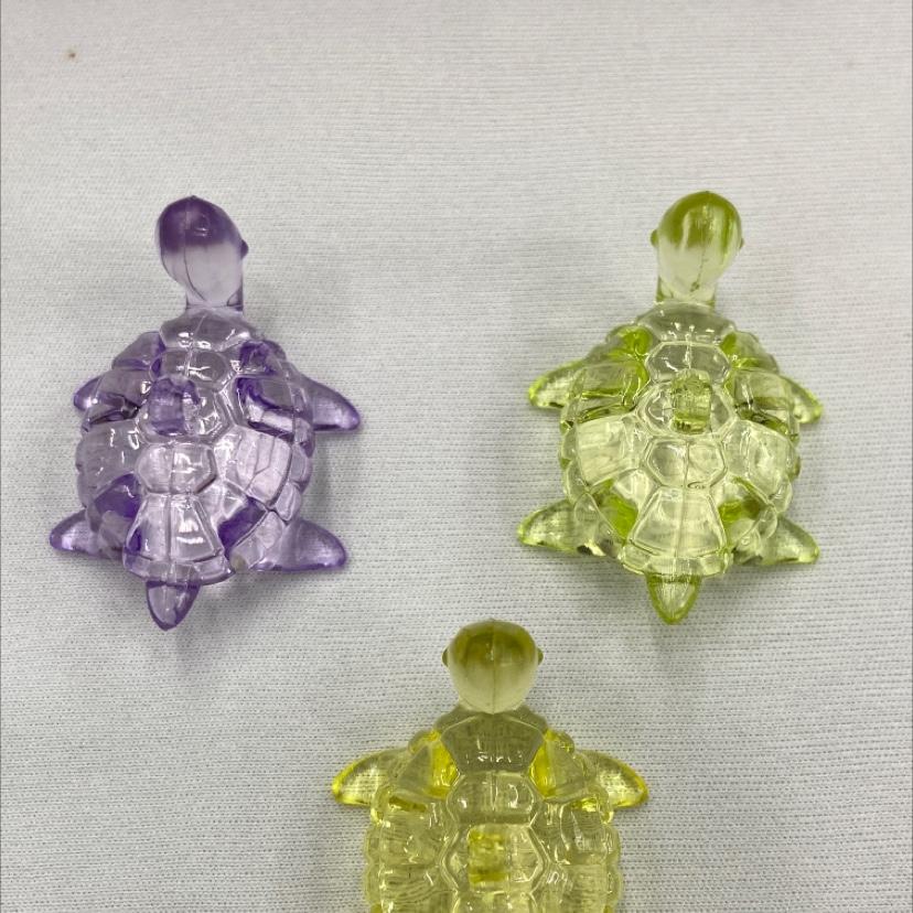 亚克力乌龟小孩玩具手机箱包挂件