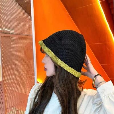 秋款针织毛线帽