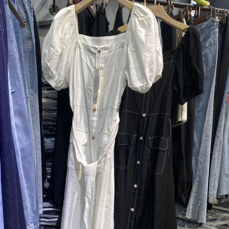 苏亲连衣裙2021新款女装时尚减龄今年流行洋气质收腰显瘦薄款长裙