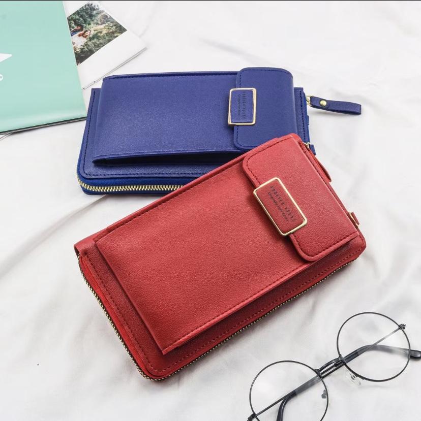 新款女士钱包韩版时尚休闲手机包女士钱包长款钱包