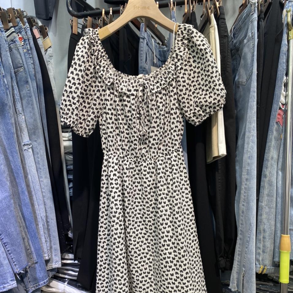 苏亲连衣裙2021新款女装时尚减龄今年流行洋气质收腰显瘦薄款裙子