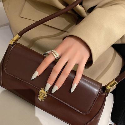 成隆首饰满钻蛇戒指女ins潮小众设计食指指环时尚个性轻奢气质网红开口戒CL01072-45