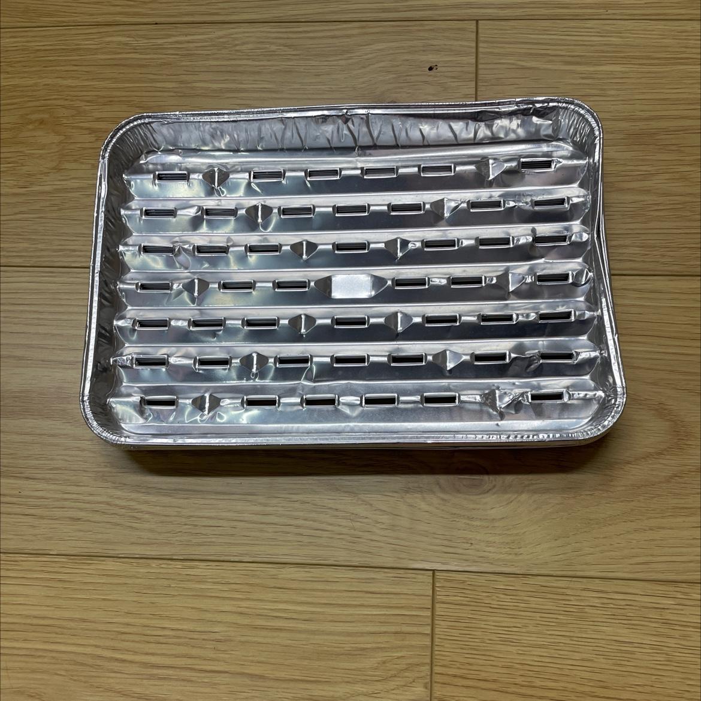 一次性铝箔锡纸金针菇烤盘烤肉