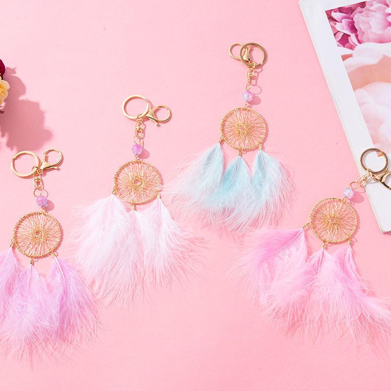 羽毛挂件,配饰,钥匙扣