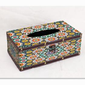 复古纸巾盒创意家用客厅办公室卧室抽纸盒高档轻奢餐巾纸盒