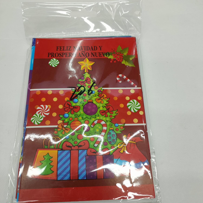 西语圣诞贺卡