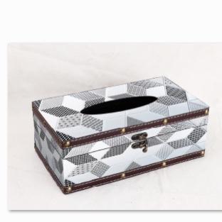 欧式复古纸巾盒家用餐厅客厅茶几可爱圆筒简约创意美式抽纸盒