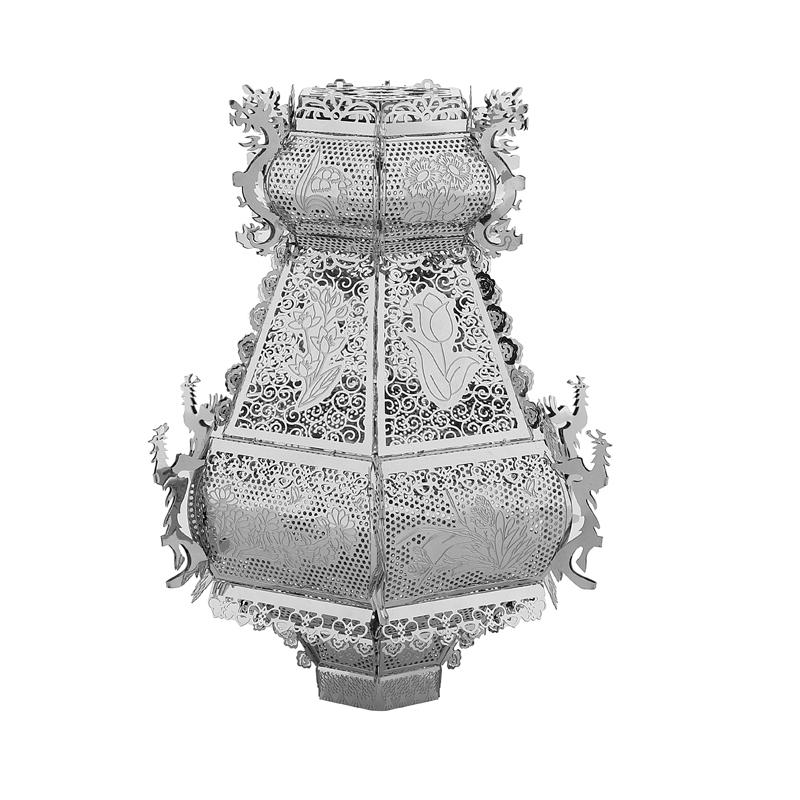 3D金属拼图灯笼