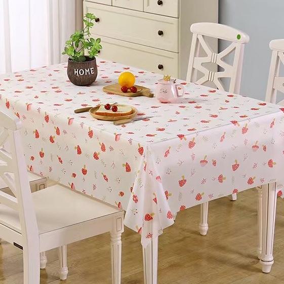 防滑桌布草莓