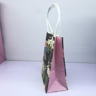 牛皮纸卡通火烈鸟礼品袋包装袋31×42