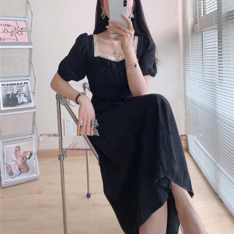 爱马丁黑色连衣裙