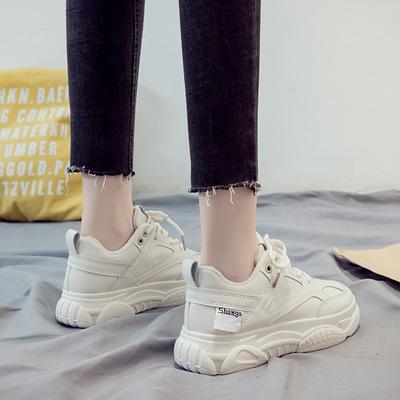 老爹鞋女2021夏季新款时尚板鞋学生...