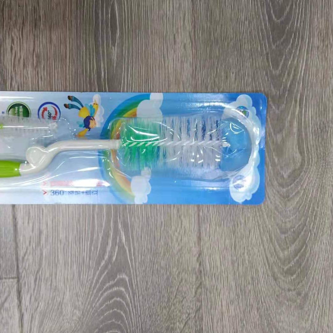 奶瓶刷子清洗套装涮子海绵婴儿专用宝宝清洁奶粉洗刷的工具神器