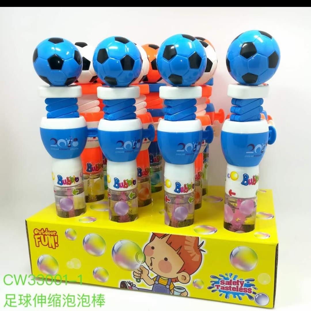 弹簧足球泡泡棒