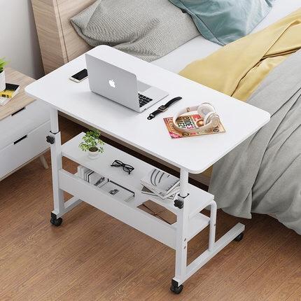 懒人简易可移动卧室电脑升降桌双层 桌子餐桌