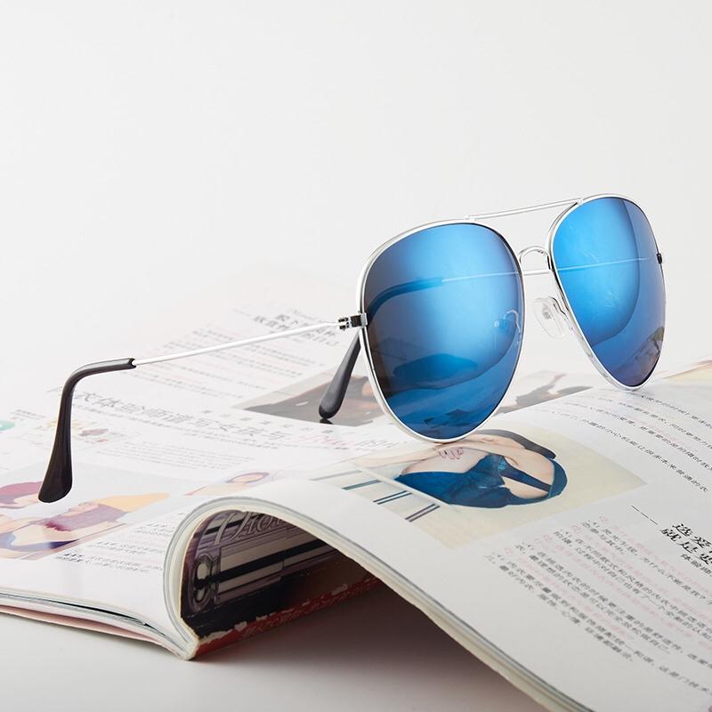 3026彩膜大框蛤蟆太阳镜男士女士金属墨镜太阳眼镜厂家批发