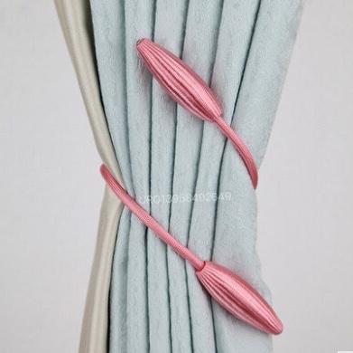手工编织窗帘绑带,窗帘配件,窗帘装饰材料,弹簧窗帘扣,磁性窗帘扣,合金窗帘夹,