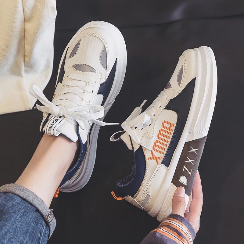 2021夏季新款透气小白鞋女运动鞋爆款百搭跑步帆布休闲板鞋ins潮