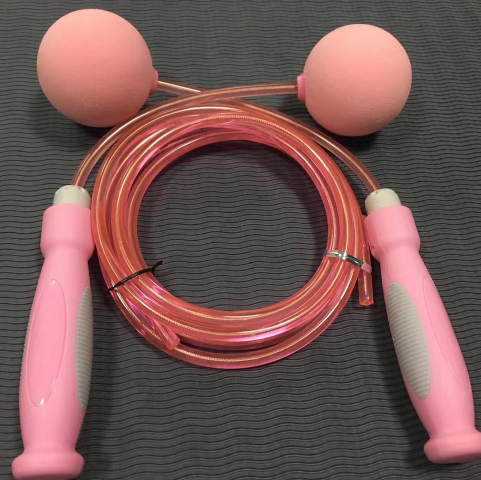 无绳有绳跳绳 带球 健身 塑型 跳绳
